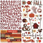 Simple Stories - Sweater Weather Collection - 12 x 12 Cardstock Stickers - Combo