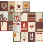 Simple Stories - Sweater Weather Collection - 12 x 12 Double Sided Paper - 3 x 4 Journaling Card Elements