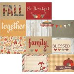 Simple Stories - Sweater Weather Collection - 12 x 12 Double Sided Paper - 4 x 6 Horizontal Journaling Card Elements