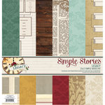 Simple Stories - Legacy Collection - 12 x 12 Simple Basics Kit