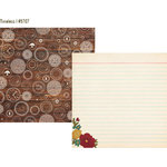 Simple Stories - Legacy Collection - 12 x 12 Double Sided Paper - Timeless