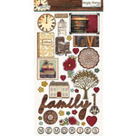Simple Stories - Legacy Collection - Chipboard Stickers
