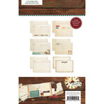 Simple Stories - SNAP Collection - 4 x 6 Recipe Cards - Legacy