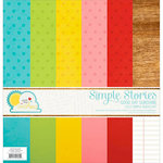 Simple Stories - Good Day Sunshine Collection - 12 x 12 Simple Basics Kit