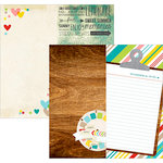 Simple Stories - Good Day Sunshine Collection - 12 x 12 Double Sided Paper - Page Elements