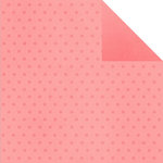 Simple Stories - Good Day Sunshine Collection - 12 x 12 Double Sided Paper - Pink Dots