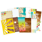 Simple Stories - SNAP Collection - 6 x 8 Journal Insert Pages - Good Day Sunshine