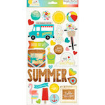 Simple Stories - Good Day Sunshine Collection - Chipboard Stickers