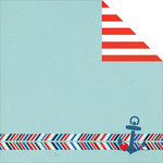 Simple Stories - Sea to Shining Sea Collection - Simple Sets - 12 x 12 Double Sided Paper - Ahoy