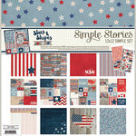 Simple Stories - Stars and Stripes Collection - 12 x 12 Collection Kit