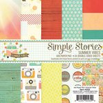 Simple Stories - Summer Vibes Collection - 6 x 6 Paper Pad