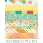 Simple Stories - Summer Vibes Collection - Washi Paper Tape