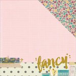 Simple Stories - So Fancy Collection - 12 x 12 Double Sided Paper - Fancy