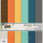 Simple Stories - So Rad Collection - 12 x 12 Simple Basics Kit