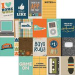Simple Stories - So Rad Collection - 12 x 12 Double Sided Paper - 3 x 4 Journaling Card Elements
