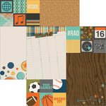 Simple Stories - So Rad Collection - 12 x 12 Double Sided Paper - 2 x 2 and 6 x 8 Elements