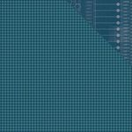 Simple Stories - So Rad Collection - 12 x 12 Double Sided Paper - Navy Houndstooth
