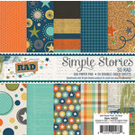 Simple Stories - So Rad Collection - 6 x 6 Paper Pad