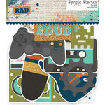 Simple Stories - So Rad Collection - Bits and Pieces