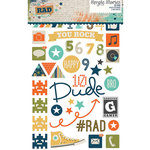 Simple Stories - So Rad Collection - Clear Photo Stickers