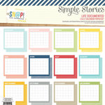 Simple Stories - Life Documented Collection - 12 x 12 Paper Kit - Calendar