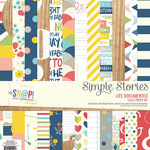 Simple Stories - Life Documented Collection - 12 x 12 Paper Kit