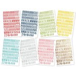 Simple Stories - Life Documented Collection - Cardstock Stickers - Letter