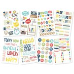 Simple Stories - Life Documented Collection - Cardstock Stickers - Icon