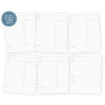 Simple Stories - SNAP Collection - 6 x 8 Journal Inserts - Life Documented - Daily Planner