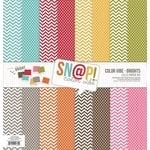 Simple Stories - SNAP Color Vibe Collection - Brights - 12 x 12 Paper Pack