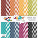 Simple Stories - SNAP Color Vibe Collection - Bolds - 12 x 12 Paper Pack