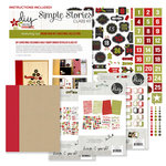 Simple Stories - DIY Christmas Collection - December Daily - SNAP Binder Class Kit