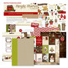 Simple Stories - Cozy Christmas Collection - SNAP Recipe Binder Class Kit