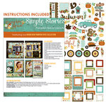 Simple Stories - Pumpkin Spice Collection - 12 x 12 Layout Class Kit