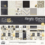 Simple Stories - Story of Us Collection - 12 x 12 Paper Pad
