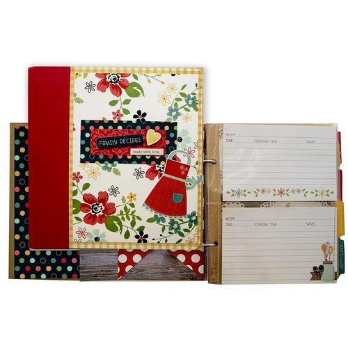 Simple Stories - Homespun Collection - Recipe Binder Class Kit