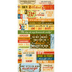 Memory Works - Simple Stories - Elementary Collection - Cardstock Stickers - Expression, BRAND NEW