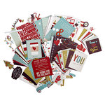 Simple Stories - SNAP Collection - Christmas - Embellishment Kit - 'Tis the Season