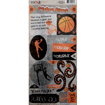 Basketball Collection - Cardstock Stickers - Elements by Moxxie