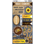 Moxxie - Country Chic Collection - Cardstock Stickers