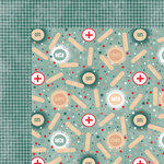 Moxxie - Doctor Doctor Collection - 12 x 12 Double Sided Paper - Ouch