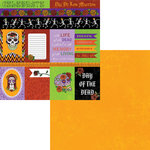 Moxxie - Day of the Dead Collection - Halloween - 12 x 12 Double Sided Paper - Day of the Dead Cutouts