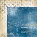 Faith Collection - 12 x 12 Double Sided Paper - Baptism by Moxxie