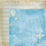 Moxxie - Faith Collection - 12 x 12 Double Sided Paper - Savior