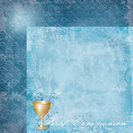 Moxxie - Faith Collection - 12 x 12 Double Sided Paper - First Communion