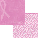 Moxxie - Fighting Back Collection - 12 x 12 Double Sided Paper - Hope