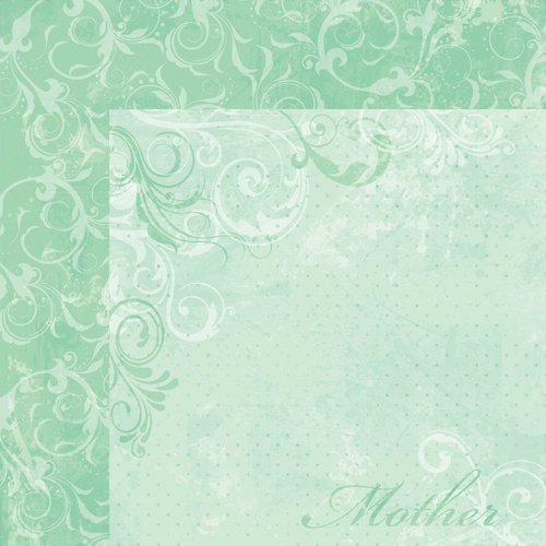 Moxxie - Forever Family Collection - 12 x 12 Double Sided Paper - Mother