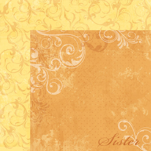 Moxxie - Forever Family Collection - 12 x 12 Double Sided Paper - Sister