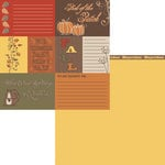 Moxxie - Forever Fall Collection - 12 x 12 Double Sided Paper - Fall Cards