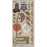 Moxxie - Forever Fall Collection - Cardstock Stickers - Elements - Fall Frolic